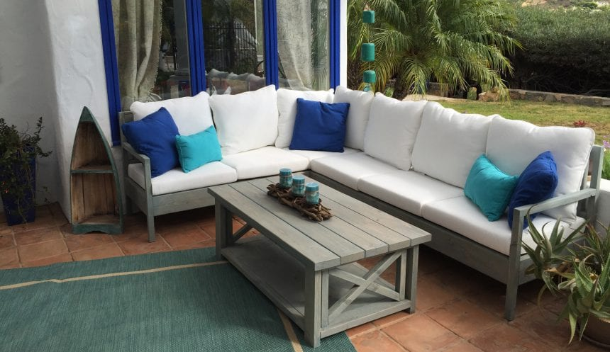 New X Design Coffee Table – Outdoor Furniture San Diego